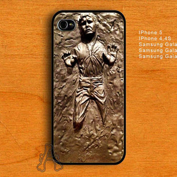 Han Solo Frozen in Carbonite-IPhone 4/4S/5 Case-Samsung Galaxy S2/S3/S4 Case-AA23072013-8