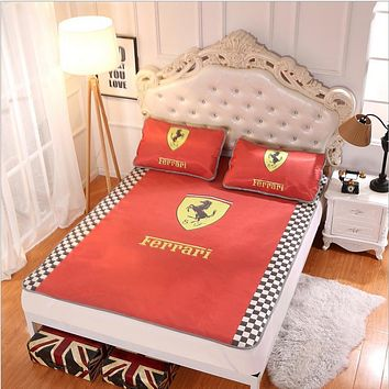 Ferrari Collapsible - Ice mat - Three-piece - Single bed - Double bed Orange B-AA#-CBJF