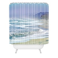 Lisa Argyropoulos Pescadero Mist Shower Curtain