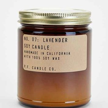 PF Candle Co. Amber Jar Soy