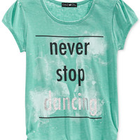 Kandy Kiss Girls' Never Stop Dancing Tee