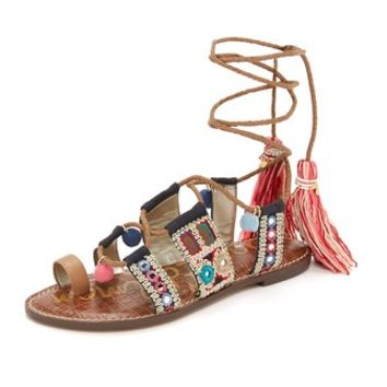 Gretchen Flat Sandals