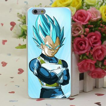 Dragon Balls Z Son Goku Hard Case for iphone 4 4s 5c 5s 5 SE 6 6s 6/7/8 plus X for iphone 7 case
