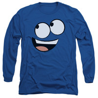 FOSTER'S/BLUE FACE-L/S ADULT 18/1-ROYAL BLUE
