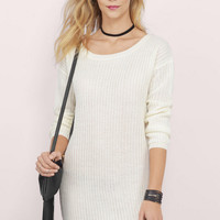 Laid-Back Sweater Dress $48