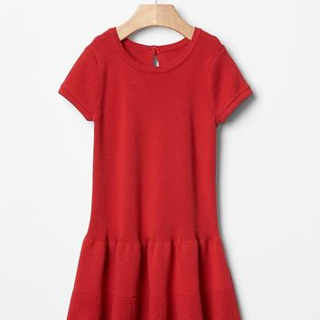 Gap Baby Drop Waist Sweater Dress