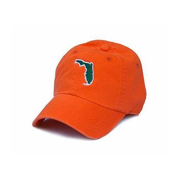 Florida Miami Gameday Hat in Orange by State Traditions