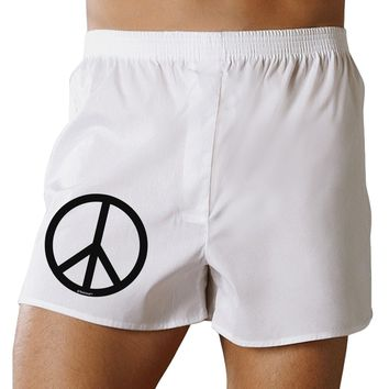 Peace Sign Symbol Boxer Shorts