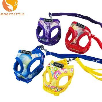 Hot Sale Soft Adjustable OxGord Pet Puppy Chihuahua Control Harness for Dog Teddy Cat Mesh Walk Collar Comfort Strap Vest