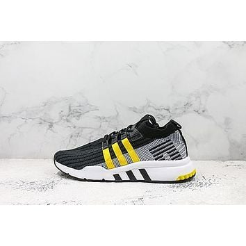 Adidas Eqt Support Mid Adv Eqt Yellow Running Shoes