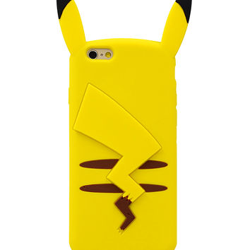 3D Pikachu Phone Case