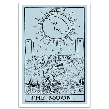'The Moon Tarot' Textual Art