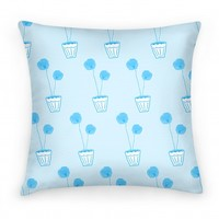 Blue Poppy Pattern