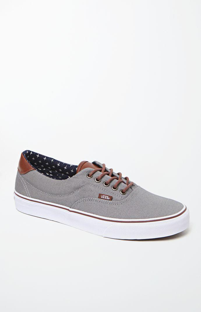 88c85eb185 Vans Era 59 T L Frost Gray Shoes - Mens from PacSun