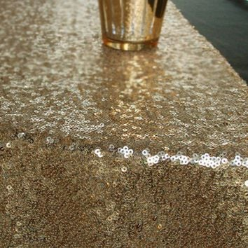 Sequined Table Runner, Sequin Runner, Table Runner