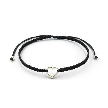 Slide Bracelet - Open Heart