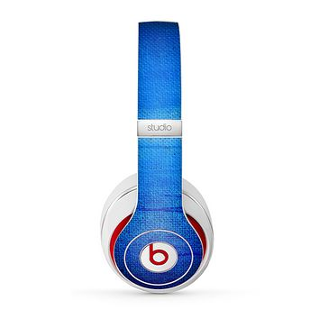 The Unbalanced Blue Textile Surface Skin for the Beats by Dre Studio (2013+ Version) Headphones