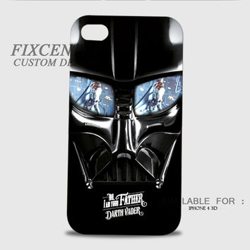 Darth Vader Star Wars 3D Image Cases for iPhone 4/4S, iPhone 5/5S, iPhone 5C, iPhone 6, iPhone 6 Plus, iPod 4, iPod 5, Samsung Galaxy (S3, S4, S5, S6) by FixCenters