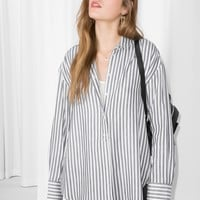 & Other Stories   Striped Cotton Shirt   Stripe