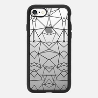 Abstract Mirrored Transparent iPhone 7 Case by Project M | Casetify