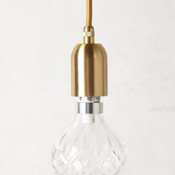 Lee Broom Crystal Pendant in Clear Size: One Size Necklaces