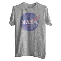 NASA Men's Graphic Tee - Heather Gray