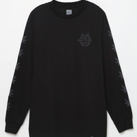 HUF Swords Circle H Long Sleeve T-Shirt at PacSun.com