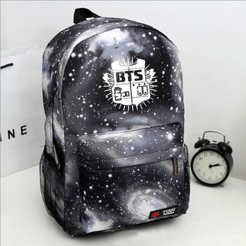 University College Backpack New Men  bulletproof juvenile star bag bts Bagpack student  wind Teenage s for Teen Girls boys MochilaAT_63_4