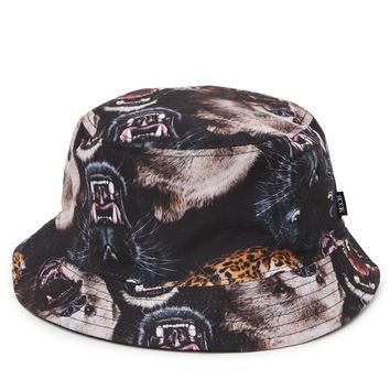 Rook Dangerous Animals Bucket Hat - Mens Backpack - Black - One