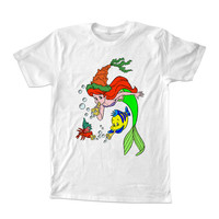 the little mermaid T-shirt unisex adults