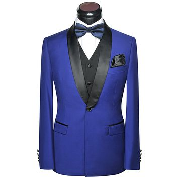 Men's 5-PCS Formal Tuxedo Suit