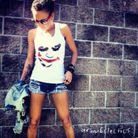 Batmans The Joker Tank Top Made to order