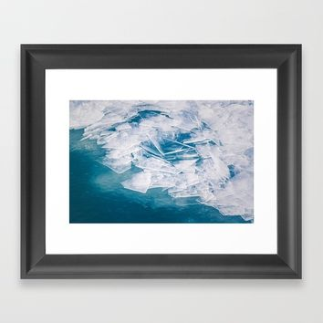 Broken Framed Art Print by Faded  Photos