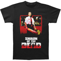 Shaun Of The Dead Men's  Shaun T-shirt Black