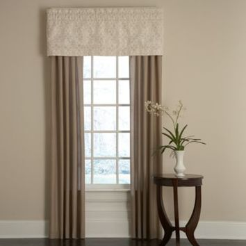 Royal Heritage Home™ Sonoma Window Valance in Ivory