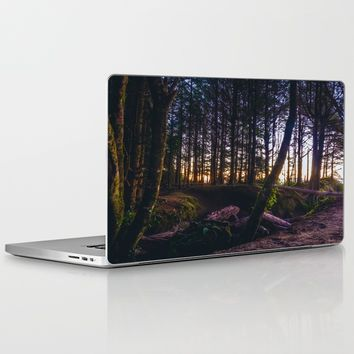 Wooded Tofino Laptop & iPad Skin by Mixed Imagery