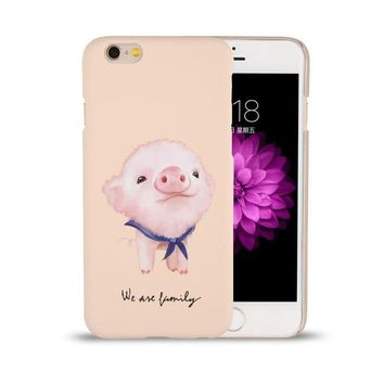 Piggy We are Family Phone Case