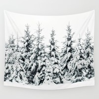 Snow Porn Wall Tapestry by Tordis Kayma