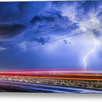 Drive By Lightning Strike Acrylic Print