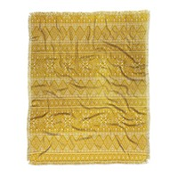 Heather Dutton Grand Bazaar Goldenrod Throw Blanket
