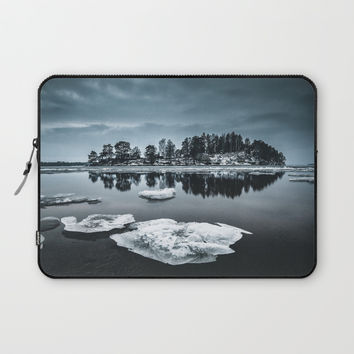 Only pieces left Laptop Sleeve by happymelvin