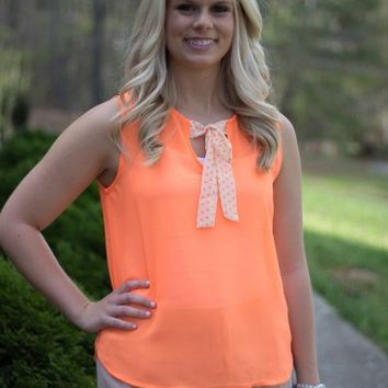 Dots and Bows Top