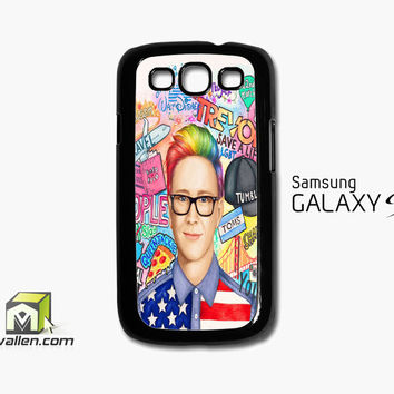 Collage Art Youtubers Samsung Galaxy S3 Case Cover by Avallen