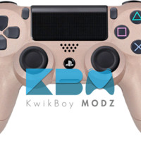 Rose Gold Custom PS4 Controller