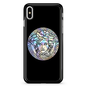 Versace Logo Colorfull iPhone X Case
