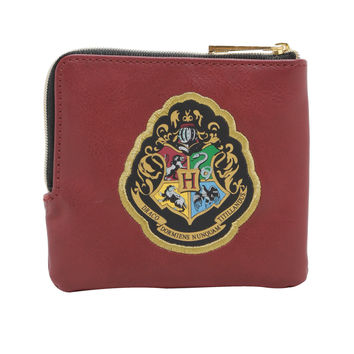 Harry Potter Platform 9 3/4 Hogwarts Zip Coin Purse