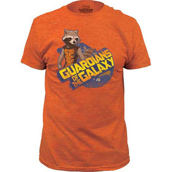 Guardians of the Galaxy - Rocket Raccoon Soft Adult T-Shirt