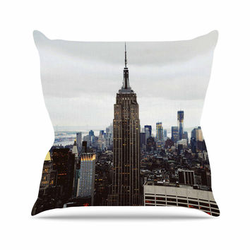"Chelsea Victoria ""New York Stories"" Urban Travel Throw Pillow"