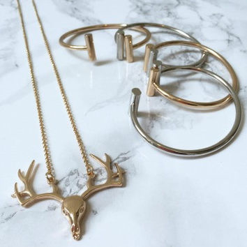 Ooh Deer Necklace