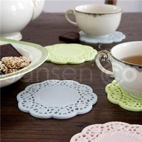Cakelace Coaster Set Of 4 By Jansen + Co - Jansen + Co - Home Furnishings - Unica Home